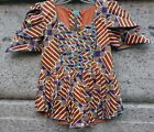 AFRICAN DRESS NATIVE NIGERIAN WOMEN TRADITIONAL 3 PCS ATTIRE CLOTHING TALL SIZE