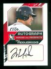2011 ITG In the Game Heroes & Prospects Up Close Autograph Will Middlebrooks