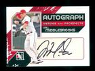 2011 ITG In the Game Heroes & Prospects Full Body Autograph Will Middlebrooks