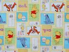 DISNEY WINNIE THE POOH FABRIC POOH BEE CUDDLY PATCH SPRING CREATIVE BY THE YARD