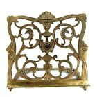 ANTIQUE ENGLISH ART DECO BRASS BOOK BIBLE EASEL GOTHIC DRAGON RACK DISPLAY STAND