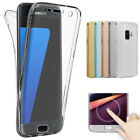 360 Clear Screen Protector Case+Back Phone Cover For Samsung Galaxy J4 J6 2018