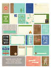 Project Life GREAT OUTDOORS 60 PK Themed Cards scrapbooking 380228