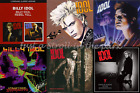Billy Idol: Complete 7 Studio Albums CDs Rebel Yell, Whiplash, Cyberpunk + More!