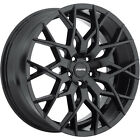 Forte F71 Mistress 20x85 5x108 5x1143 +35mm Gloss Black Wheels Rims