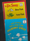 Dr Seuss:And To Think I Saw It On Mulberry Street HC/One Fish Two Fish HC