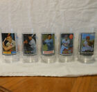 Lot of 5 McDonald's All Time Greatest Glasses Mays Gehrig Bench Ryan