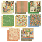 Graphic45 LITTLE WOMEN COLLECTION SET OF ALL 8 8x8 Dbl Sided Papers