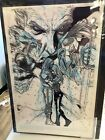 Original art comic cover issue 1 Underworld Rise of the Lycans IDW