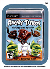 2013 Wacky Packages Series 11 Blue #50b Angry Turds/ (Mobster High puzzle back)
