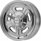 15x10 Polished American Racing Vintage VN502 Wheels 5x4.5 -32 Lifted Fits Ford