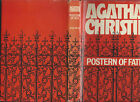 Postern of fate by agatha christie hardcover and dj dodd mead and co 1973