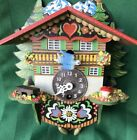 Vintage Wind Up Alpine Chalet Cuckoo Clock Mini