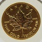1995 Canada Gold Maple Leaf 1/20 Oz 9999 $1 Coin - JY865