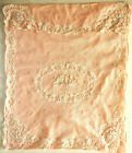 Lace Crib Or Carriage Baby Coverlet