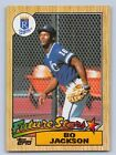 1987  BO JACKSON - TOPPS ROOKIE Baseball Card # 170 - KANSAS CITY ROYALS