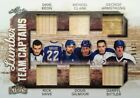 2017-18 LUMBER KINGS SSP /17 GAME USED STICK MAPLE LEAFS TEAM CAPTAINS 6 PIECES!