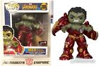 Funko Pop 306 Avengers Infinity War Hulkbuster Busting Gamestop Exclusive thanos