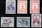 PORTUGAL FRANCHISE STAMP SET 1930 SC# 1S24-1S29 RED CRPSS MNH VF