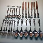 25 PIECE LOT~1847 Rogers Bros. VINTAGE (GRAPE) Silverplate Pattern~EXCELLENT!