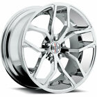Foose Outkast F148 20x85 5x1143 5x45 +35mm Chrome Wheels Rims F148208565+35