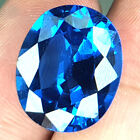 19.04 CTS ENORMOUS PERFECT CLEAN CUPREME BLUE NATURAL TOPAZ