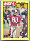 1987 TOPPS JERRRY RICE BOX BOTTOM MINT RARE NO CREASES GREAT SURFACE
