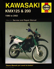 KAWASAKI KMX125 & 200 (86-02) (UK IMPORT) BOOK NEW