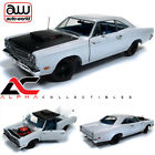 AUTOWORLD AMM1147 118 19695 PLYMOUTH ROADRUNNER POST COUPE WHITE