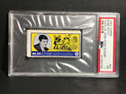 RARE 1962 1963 Topps Famous American TEST Issue Stamp #50 Babe Ruth Yankees PSA