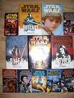12 Hardcover w/dust & Softcover STAR WAR Books LOT EXCELLENT Hans SOLO Jedi