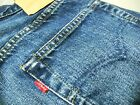 VINTAGE Men LEVIS 501 STRAIGHT LEG 555 BIG E REDLINE Jeans 32 x 40 Fit 29 x 35