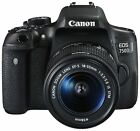 Canon EOS 750D 3 Inch LCD 24MP 1080p DSLR Camera with 18-55mm Lens