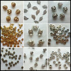 Wholesale Tibetan Silver Gold Rondelle Spacer Beads Fit Charms Bracelet