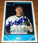 DUSTIN BIELL HAND SIGNED AUTOGRAPHED BASEBALL RC CARD NICE!