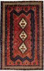 Lovely Geometric Rare Design Shahrbabak Persian Rug Oriental Area Carpet 5'4X8'6