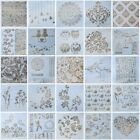 13pc DIY Crafts Layering Stencils Scrapbooking Walls Painting Embossing Template