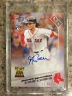 2017 Topps Now Andrew Benintendi Red Sox SAll-Star Rookie 1 99 AUTO OS-15B