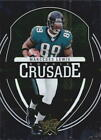 2006 Rookies & Stars Rookie Crusade Green Football Card #6 Marcedes Lewis/100