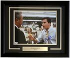 Charlie Sheen Signing Major League Autographs for 2014 Topps Archives Baseball 15