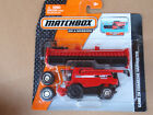 2014 Matchbox Real Working Rigs CASE IH COMBINE HARVESTER Red