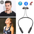 Noise Cancellation Bluetooth Headset Magnetic Earbud Earphone For Men WomenSport