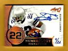 EMMITT SMITH-2017 Leaf Q NUMEROLOGY (#4 22) AUTO AUTOGRAPH GEM-MINT?