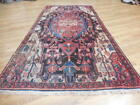 Ca1930s VGDY ANTIQUE LILIHAN MALLAYER SAROUK 4x8 ESTATE SALE RUG