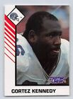 1993  CORTEZ KENNEDY - Kenner Starting Lineup Card - SEATTLE SEAHAWKS - (White)