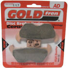 Front Disc Brake Pads for BMW R850R 2002 848cc By GOLDfren