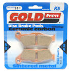 Front Disc Brake Pads for CCM 450 DS Trail 2008 450cc  By GOLDfren