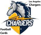 You Pick Your Cards - Los Angeles Chargers Team- Football Card Selection