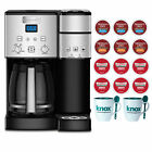 Cuisinart SS 15 12 Cup Coffee Maker Single Serve Brewer with 12 K cups and Mugs