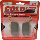 Rear Disc Brake Pads for Moto Guzzi Quota 1000 1992 950cc By GOLDfren